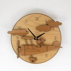đồng hồ treo tường bằng gỗ tphcm