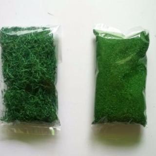 cỏ làm mô hình