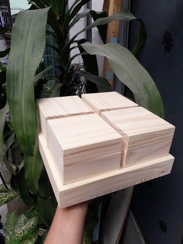 hộp gỗ đựng trà