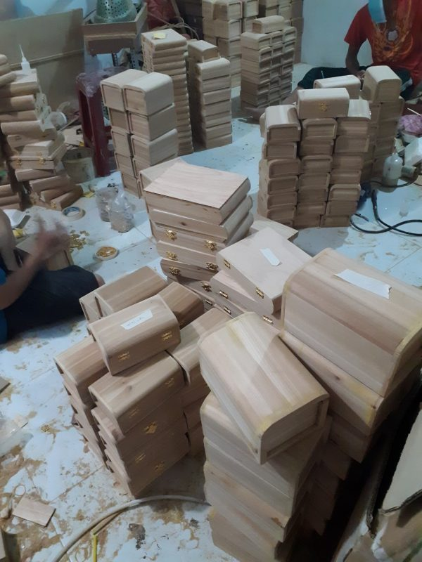 sản xuất hộp gỗ
